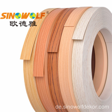 PVC Edge Banding Holzmaserung Serie