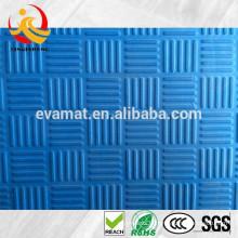 Tapis de gymnastique coloré, tapis de gymnastique plié