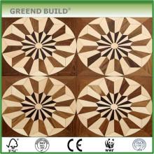 Modèles de plancher de bois de carreaux de café