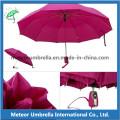 Parapluie automatique en caoutchouc en acier