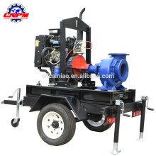 Pompe à eau entraînée par moteur diesel de haute qualité pour l'irrigation