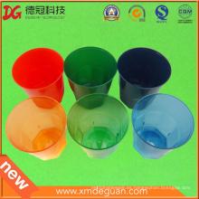 Vidrio de plástico de alta calidad de Clorful del agua y del vino PS