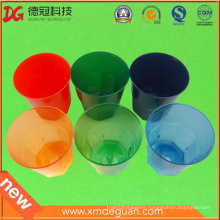 Customised High Quality Clorful Water & Wine PS Plastic Glass
