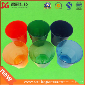 High Quality Clorful Water & Wine PS Plastic Glass
