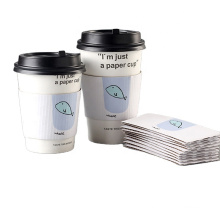 Paper Coffee Cup Sleeves_Double Wall Cardboard Coffee Cups with Lids_Takeaway Coffee Cups Wholesale