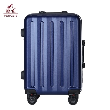Set portabagagli trolley blu ABS