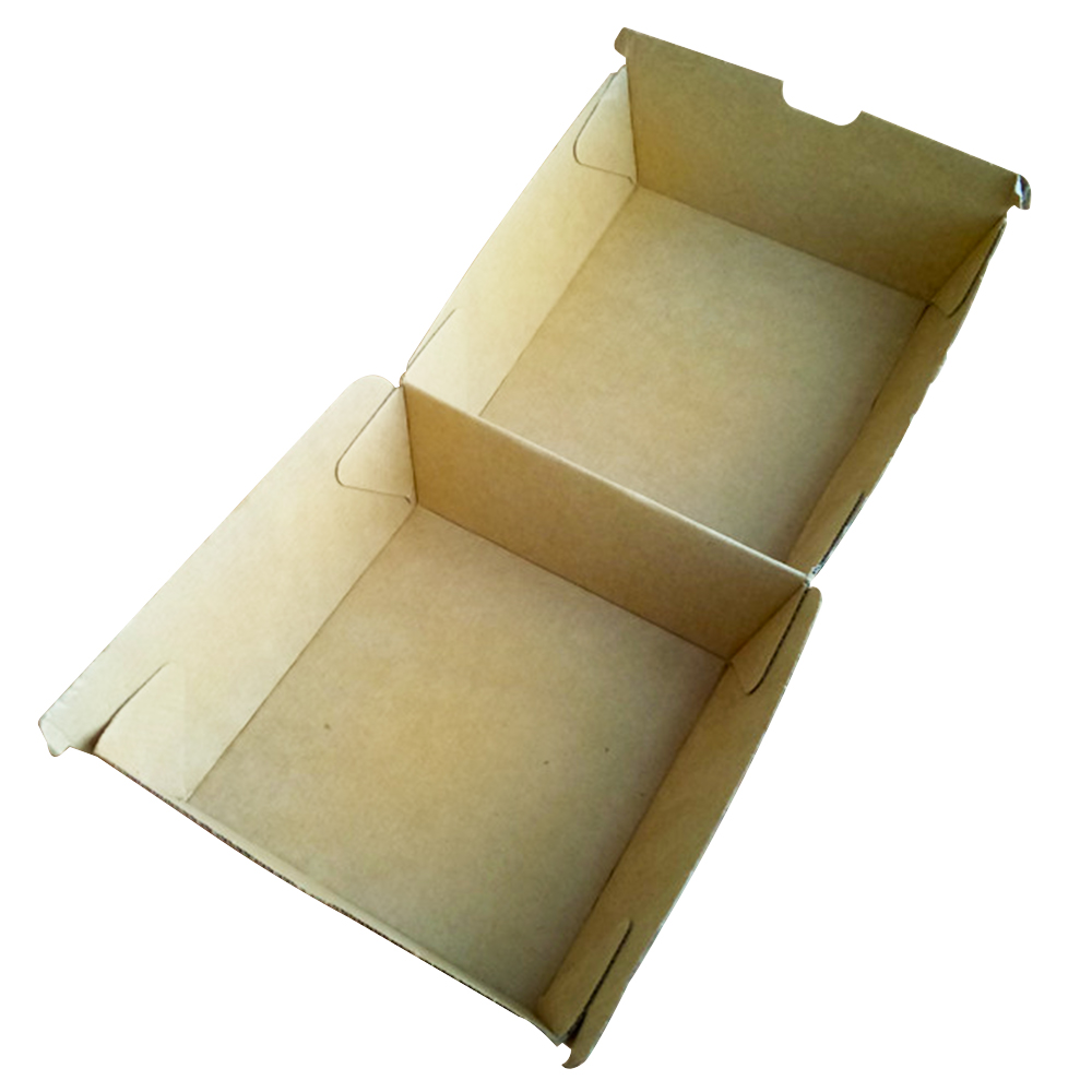 Corrugated burger box fast food box