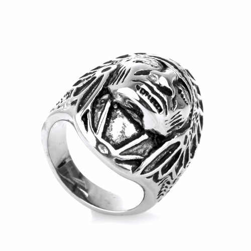 Antique Silver Plated Vintage BohemianTribe Leaders Ring