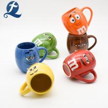 Les tasses de café en céramique de Drinkware de promotion de cadeau tassent l'impression faite sur commande