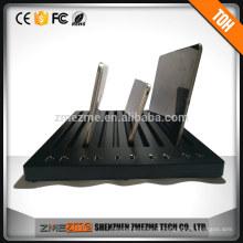 Carregador USB de porta estação de carregamento múltiplo desktop com cabo de alimentação de 1.6M