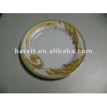 Plaque de confiserie en porcelaine