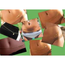 NOVO quente sexy bikini moda cintura cadeia corpo jóias belly cadeias