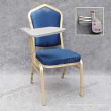 Chaise de banquet moderne avec une tablette d'écriture (YC-ZL22-17)