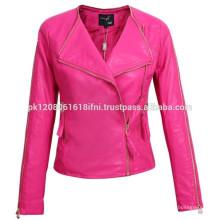 Wholesale Lady Jacket Sport Jacket Western Style Leather Jacket