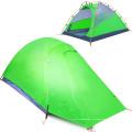 Outdoor Camping Double Aluminium Bar Silikagel Anti-Regen-Reisezelt