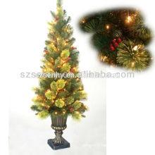 2016 Beau arbre artificiel de Noël LED artificiel