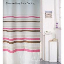 Heißer Verkaufs-einfacher Entwurfs-Polyester-Duschvorhang