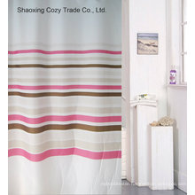 Hot Sale Simple Design Polyester Shower Curtain