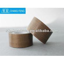 High sealing PTFE coated fiberglass adhesive tape/plastic sealed bags