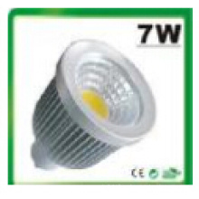 7W regulable / no regulable MR16 COB LED proyector