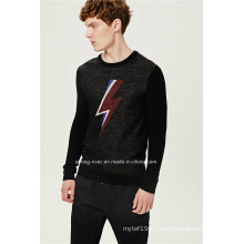70%Acrylic 30%Wool Pullover Man Knit Sweater