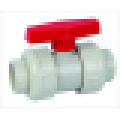Válvula de esfera True Union de CPVC, Válvula de esfera de União Dupla