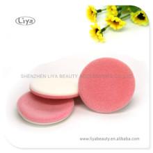 Multcolor cosmétique éponge pouf maquillage flocage pouf
