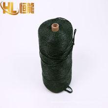 Spiltfilm del polipropileno de la agricultura 1 capa tejida henificadora de la empacadora del heno / cuerda de cuerda trenzada del pp