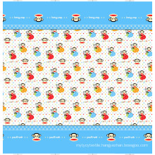 55%polyester 45%cotton printed fabric for home textile