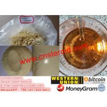 Trenbolona Enanthate en polvo inyectable de aceite de premezcla Muscle Builder
