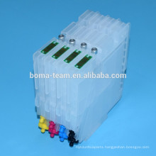 GC21 Sublimation ink for ricoh GX7000 GX3000 GX5000 GX2500 4 color and refillable ink cartridge with chip for ricoh GC21