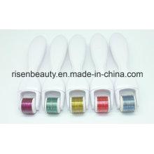 Vente en gros d'usine directe Tianion Derma 600 Needles Micro Needle Roller avec tête modifiable