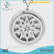 Elegant Glass window locket jewelry parfums populaires pour femmes