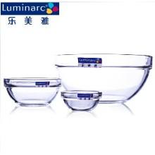 Luminarc Großes Glas Salat Schüssel, Obst Serviertablett