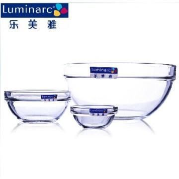 Luminarc большой стеклянный салат миска, поднос для фруктов