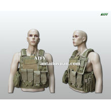 Armored clothing plate carrier vest