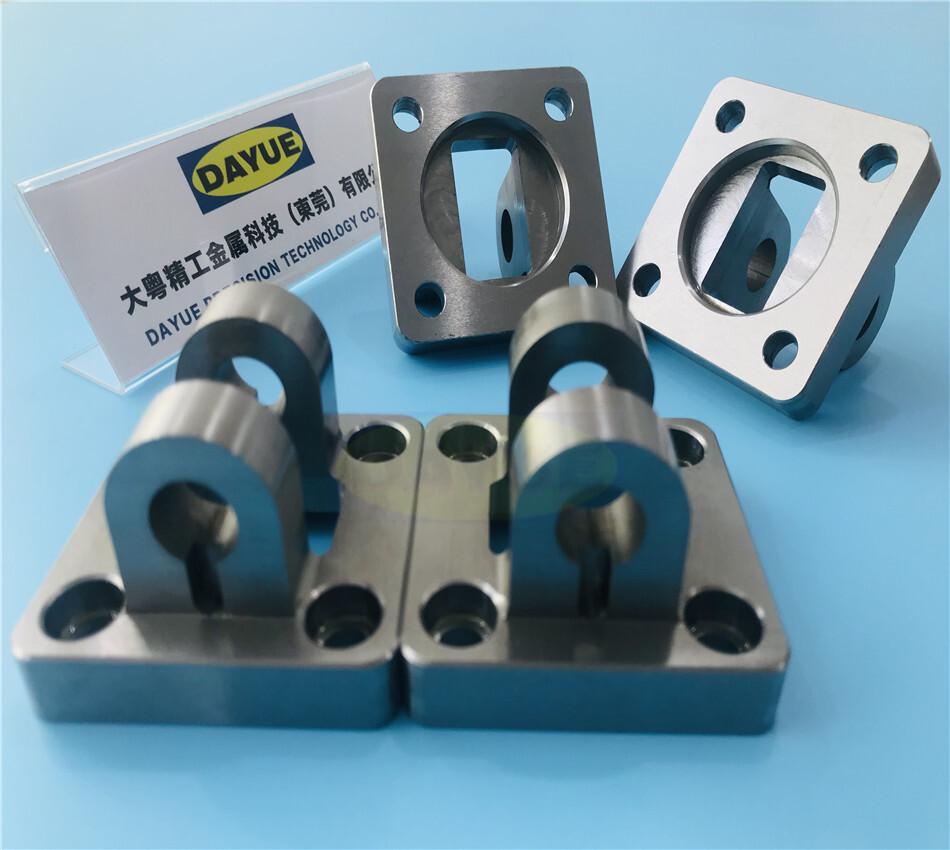 brass cnc milling part
