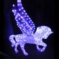Acrylique taille 3d modèle grand cheval sculpture