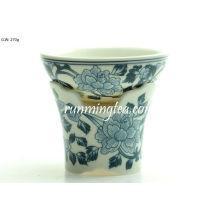 Filtro de porcelana de flores