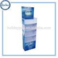 Grand présentoir de papier de bruit de point d'achat pour l'ampoule, affichage de papier matériel d'emballage de lumière