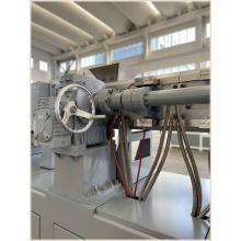 Extrusora de parafuso duplo cônico de alta eficiência para linha de extrusão de tubo de PVC