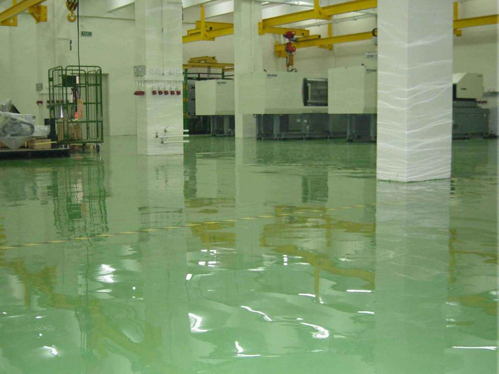 Workshop Solvent Free Epoxy Self Flowing Flat Paint