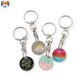 Porta-chaves de moedas com logotipo de dinossauro personalizado