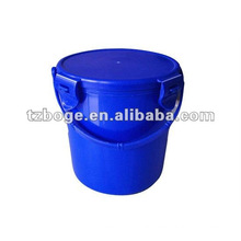 2012 new design plastic bucket with cover injection mould