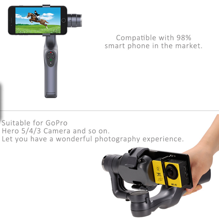 Handheld Gimbal with Adapter