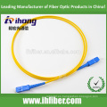 SC / UPC-SC / UPC cable de fibra óptica de conexión con simple modo simple