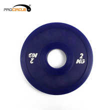 Procircle Adjustable Weight Fitness Bumper Plates