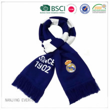 Real Madrid Futbol Fan atkı örgü