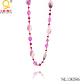 2014 Hot Crystal and Agate Necklace
