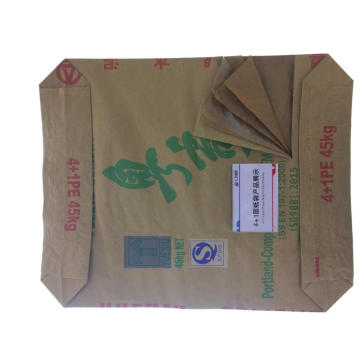 4 + 1 Plastic Liner Paper Cement Bag